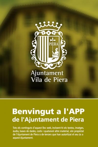 App Ajuntament de Piera