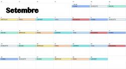 Calendari urgències farmacèutiques setembre 2017