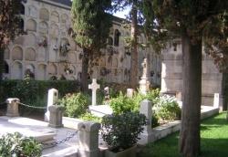 Imatge del cementiri.