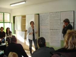 Grups de treball al taller de ciutat del POUM
