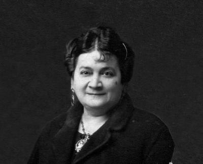 Retrat de la senyora Carme Rodríguez Sintex, vídua de Coma Roura