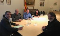 Reunió Mossos d'Esquadra