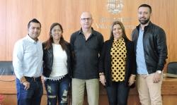 Visita delegació colombiana