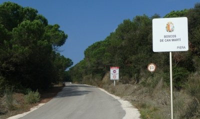 Arranjament de camins als Boscos de Can Martí