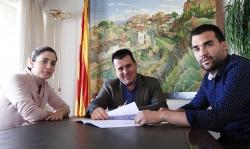 Signatura del conveni de col·laboració