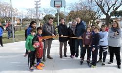 Pista de bàsquet barri de la Plana