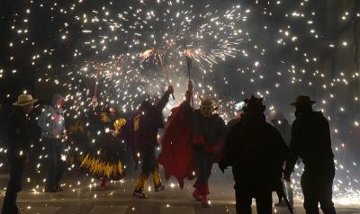 Correfoc - Festes del Sant Crist 2019
