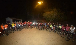 1a pedalada BTT nocturna de Piera
