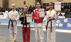 Paula Sánchez taekwondo