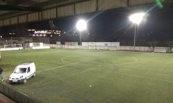 Nou enllumenat del camp de futbol