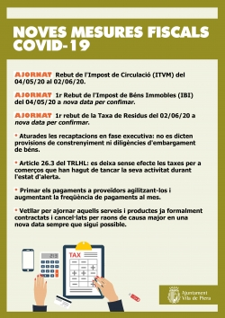 Mesures fiscals