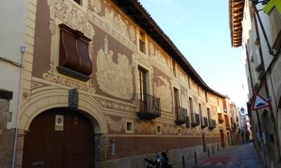 Façana restaurada per Òscar Martín - març de 2020