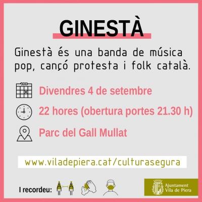 Ginestà - Cultura Segura