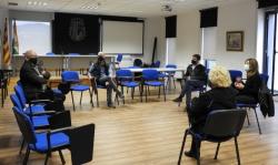 Visita conseller Educació Josep Bargalló