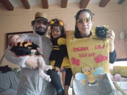 Las abejas felices