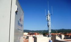 Nova antena de control d'emissions a Piera