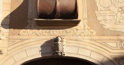 Escut heràldic dels Castell de Pons, descendents dels Sastre (2015)