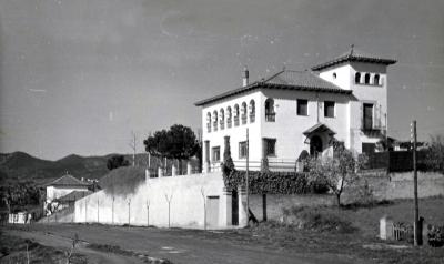 La Torre Solana des d'un polsegós passeig del Prat (dècada de 1960)