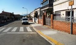 Obres voreres carrer Sant Josep
