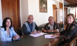 Signatura del conveni amb Dispiera 2013