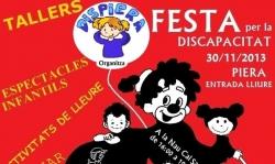 Festa de la discapacitat 2013