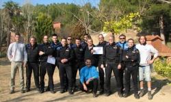Curs Intervenció Policial amb gossos 2013