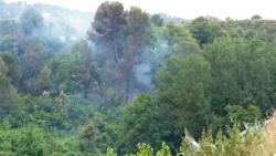 Incendi a la font del Canyar