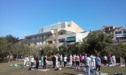 Celebrat el dia internacional del ioga 2015