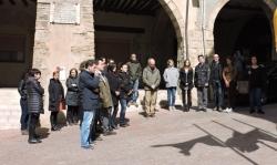 Concentració pels atemptats de Brussel·les 22.03.2016