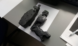 Una de les pistoles elèctriques de la Policia de Piera
